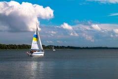 基于波兰湖 免版税库存图片