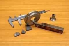 基于行业制造金属 免版税库存照片