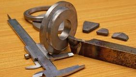 基于行业制造金属 免版税库存图片