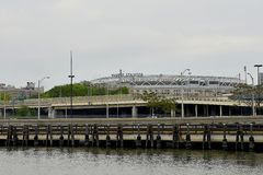 洋基体育场,纽约 免版税库存照片