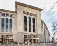 洋基体育场NYC 免版税库存图片