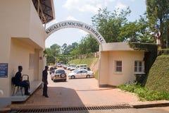 基加利种族灭绝纪念中心,卢旺达 免版税库存照片