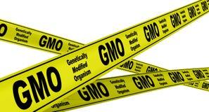 基因上修改过的有机体GMO r 皇族释放例证