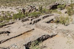 基尔梅斯废墟  库存照片