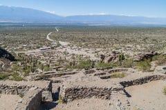 基尔梅斯,阿根廷废墟  免版税库存图片