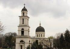 基希纳乌大教堂  库存图片