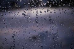 基希纳乌庭院照片雨小的冬天 免版税库存照片