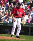 基思Foulke波士顿红袜 免版税库存图片