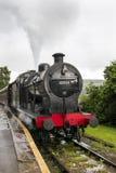 基斯利和相当谷铁路价值 约克夏,英国,英国 免版税库存图片