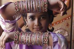 巴基斯坦女孩 库存照片