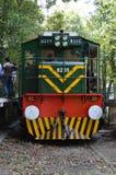 巴基斯坦没有的铁路机车 8205接受的测试在拉合尔 免版税图库摄影
