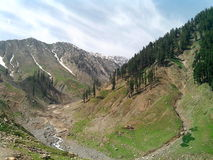 巴基斯坦的山 图库摄影