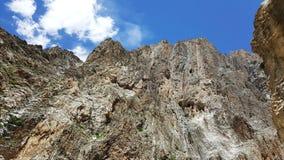 巴基斯坦的山 免版税库存图片