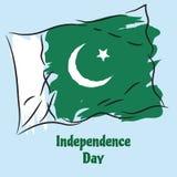 巴基斯坦的独立日 免版税库存图片