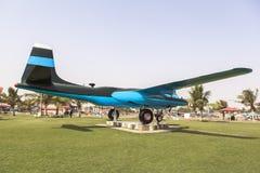 巴基斯坦空军队博物馆在卡拉奇 免版税库存图片