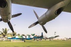 巴基斯坦空军队博物馆在卡拉奇 免版税库存照片