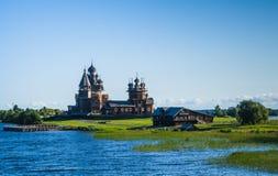 基日岛海岛,俄罗斯 免版税库存图片