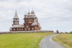 基日岛海岛,卡累利阿,俄罗斯 免版税库存图片