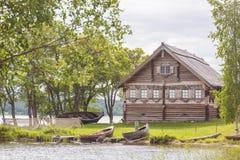 基日岛海岛,卡累利阿,俄罗斯 免版税图库摄影