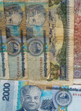 基普是老挝的货币 免版税图库摄影