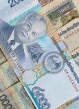 基普是老挝的货币 库存图片
