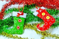基本圣诞节颜色设计绘画殴打水 免版税图库摄影