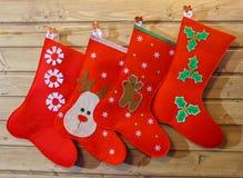 基本圣诞节颜色设计绘画殴打水 免版税库存照片