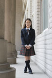 基本女小学生 免版税库存照片
