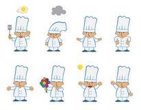 基本微小的厨师 免版税库存图片