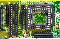 基本浮动小数点插口部件 库存图片