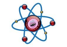 基本电池例证结构病毒 库存例证