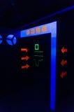 基本的入口在游戏室 免版税库存图片