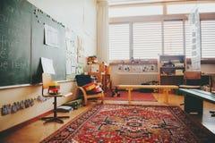 基本的教室 库存照片