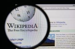 维基百科 图库摄影