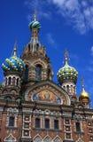基督・彼得斯堡复活俄国圣徒 图库摄影