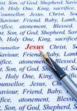 基督・耶稣国王救主牧羊人 免版税库存照片