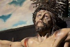 基督交叉耶稣 免版税图库摄影