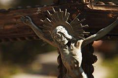 基督交叉迫害了圣洁耶稣 库存照片