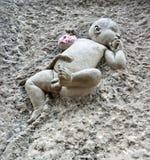 基督儿童雕象,伦敦,英国。 库存图片