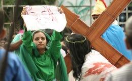 基督受难日的庆祝 免版税库存照片