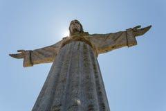 基督国王在阳光下 免版税图库摄影