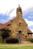 基督国王天主教在史密斯堡,阿肯色 免版税库存照片
