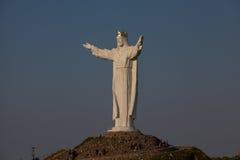 基督国王纪念碑 库存照片