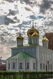 基督图拉俄罗斯大教堂  图库摄影