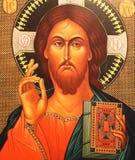 基督图标耶稣 免版税库存照片
