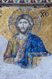 基督图象耶稣马赛克 库存照片