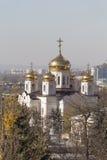 基督圆顶大教堂的看法救主 免版税库存照片