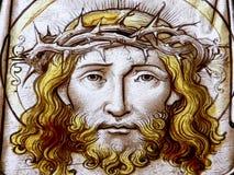基督在十字架上钉死 库存照片