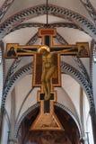 基督在十字架上钉死-佛罗伦萨 图库摄影