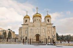 基督大教堂救主。 Pyatigorsk。 免版税库存图片